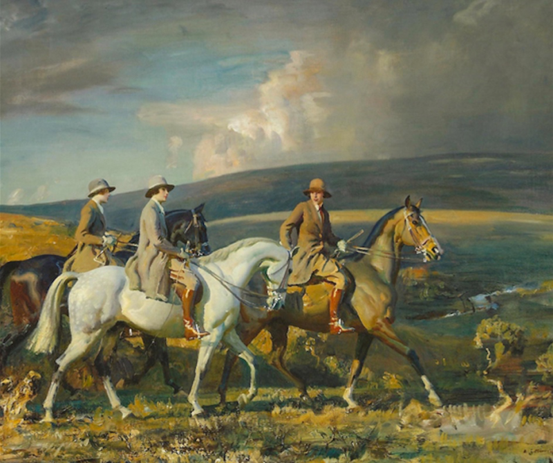 Sir Alfred James Munnings: Genius of British Romantic Equestrian Art