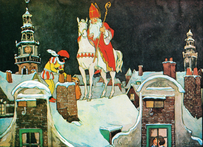 The Adventures of Amerigo: Flying White Horse of Sinterklaas