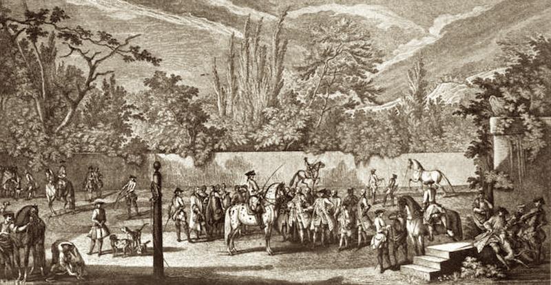 Horsemanship in the Riding School