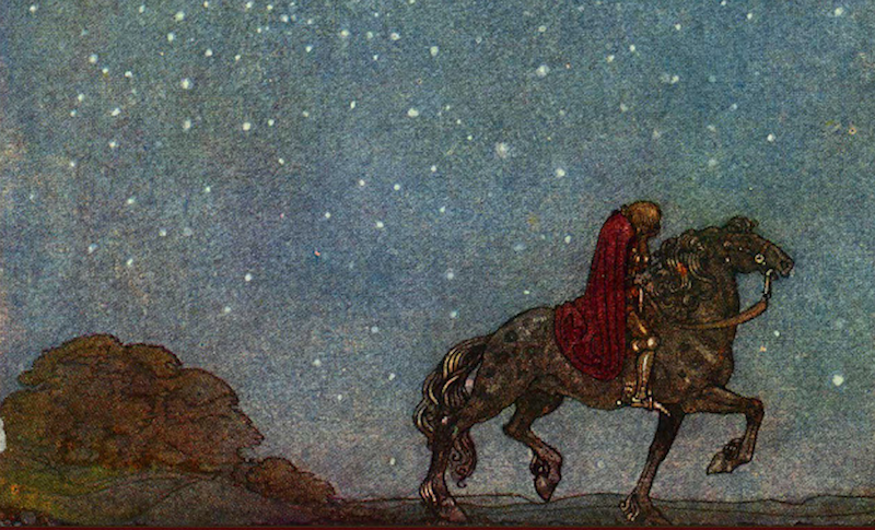 "The Sexton's Old Horse: Excerpt from ""Lilith: A Romance"" by George MacDonald"