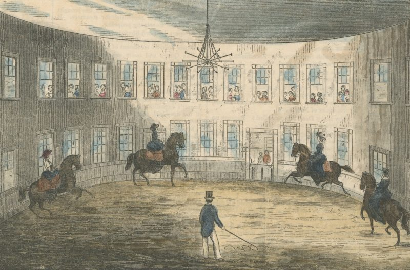 """The Blood is Made Pure"": Disbrow & Co's Boston Riding School Circa 1852 and the Health-Giving Properties of the Arts of Equitation"